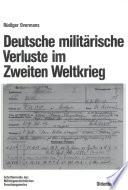 Deutsche milit  rische Verluste im Zweiten Weltkrieg