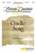 Cradle Song : tampa bay, this gentle and intimate setting of...