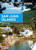 Moon San Juan Islands