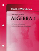Algebra 1 Objectives Review and Practice Grades 9 12