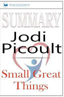 Summary Of Small Great Things By Jodi Picoult