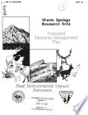 Warm Springs Resource Area