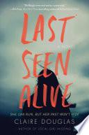 Last Seen Alive Book PDF