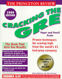 Cracking the GRE 1999