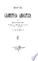 Trattato di geometria analitica