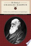 The Works of Charles Darwin  Volume 25