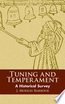 Tuning and Temperament