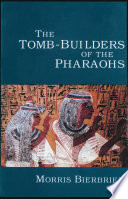 the tomb  builders of the pharaohs
