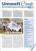 Zeitschrift UmweltBriefe Heft 25 26 2015
