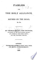 Fables for the Holy Alliance  Rhymes on the Road   c   c