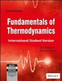 Fundamentals Of Thermodynamics  7Th Ed  Isv