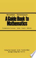 A Guide Book to Mathematics