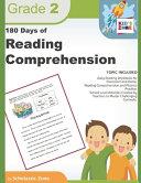 180 Days Of Reading Comprehension Grade 2
