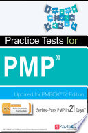 Pass PMP in 21 Days   Practice Tests