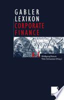 Gabler Lexikon Corporate Finance