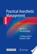 Practical Anesthetic Management