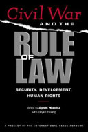 Civil War And The Rule Of Law