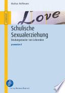 Schulische Sexualerziehung