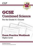 New Grade 9 1 GCSE Combined Science  Exam Practice Workbook  with Answers    Higher
