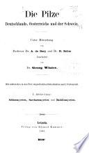 Dr. L. Rabenhorst's Kryptogamen-Flora von Deutschland, Österreich und der Schweiz