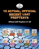 10 Actual  Official Recent LSAT PrepTests