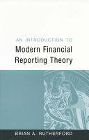 An Introduction to Modern Financial Reporting Theory