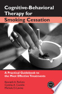 Cognitive Behavioral Therapy for Smoking Cessation