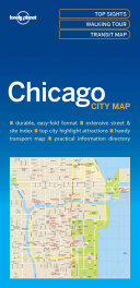 Lonely Planet Chicago City Map