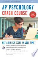 AP   Psychology Crash Course Book   Online