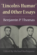 Lincoln s Humor  and Other Essays