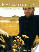 Five For Fighting The Battle For Everything Songbook