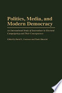 Politics  Media  and Modern Democracy