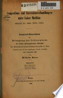 Compositions- und Successionsverhandlungen unter Kaiser Matthias während der Jahre 1615-1618