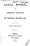 Lalla Rookh  an oriental romance     New edition Book PDF