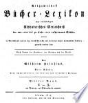 Allgemeines B  cher Lexikon