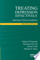 Treating Depression Effectively