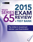 Wiley Series 65 Exam Review 2015   Test Bank