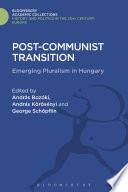 Post Communist Transition