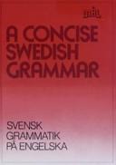 A concise Swedish grammar