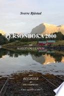 Personboka 2000 for Hareid og Ulstein