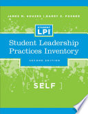 The Student Leadership Practices Inventory  LPI   Self Instrument