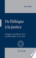 illustration De L'éthique à la Justice
