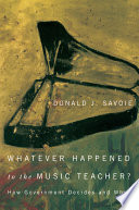 """Whatever Happened to the Music Teacher?"" Cover"