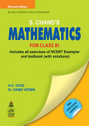S.Chand'S Mathematics For Class XI Book