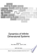 Dynamics Of Infinite Dimensional Systems book
