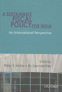 A Sustainable Fiscal Policy for India