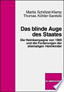 Das blinde Auge des Staates
