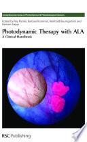 Photodynamic Therapy With Ala book