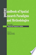 Handbook Of Spatial Research Paradigms And Methodologies