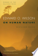 Ebook On Human Nature Epub Edward O. Wilson Apps Read Mobile
